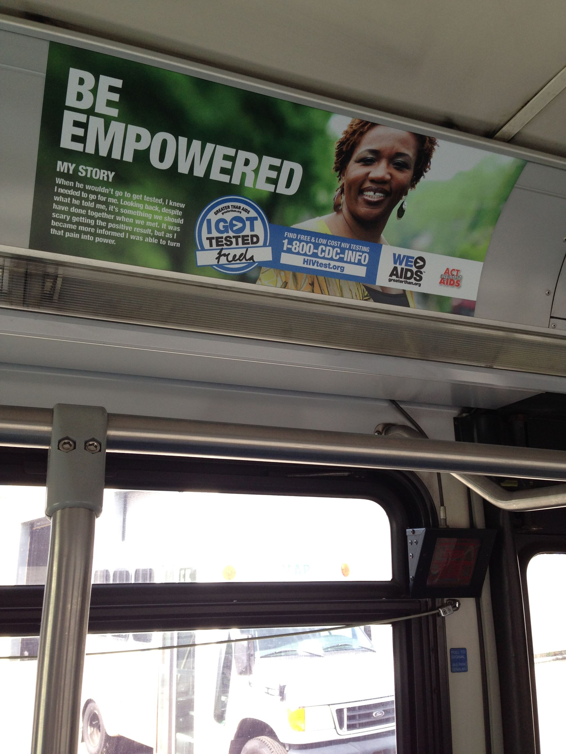 Be Empowered Advertisement